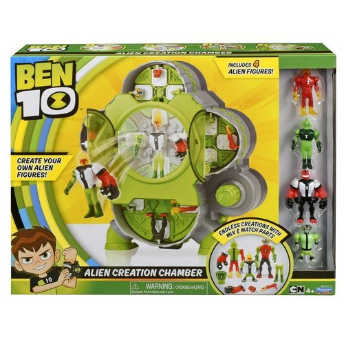 Ben 10 Camera Creare Extrateresti (4 Figurine)